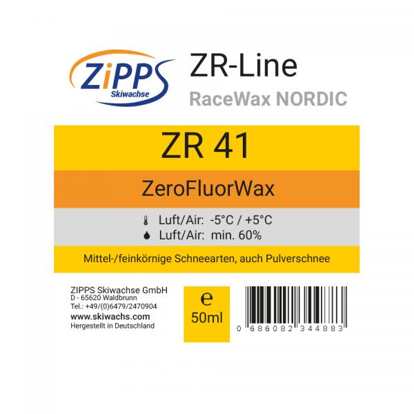 ZR 41 ZeroFluorWax