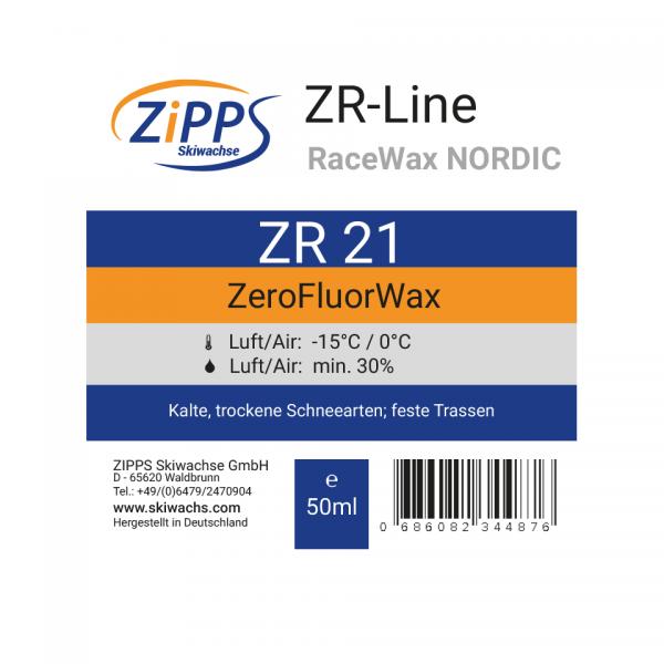 ZR 21 ZeroFluorWax