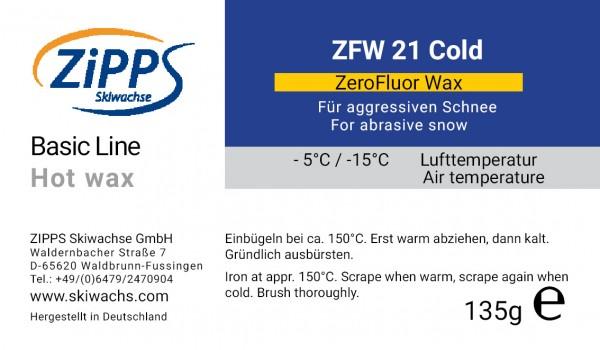 ZFW 21 ZEROFLUOR - Cold